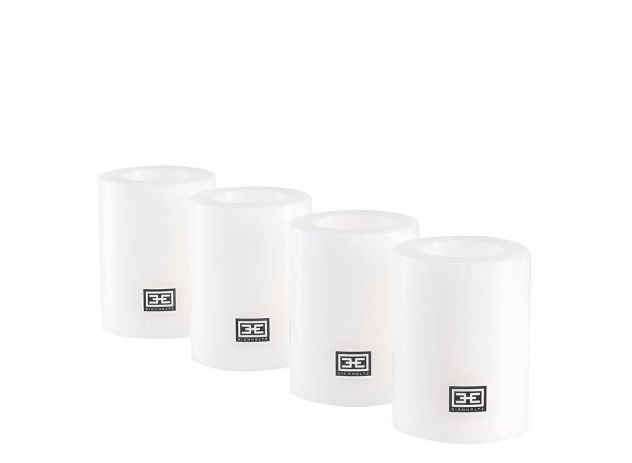 Kaarsen set M - 2 stuks - 8x6 cm