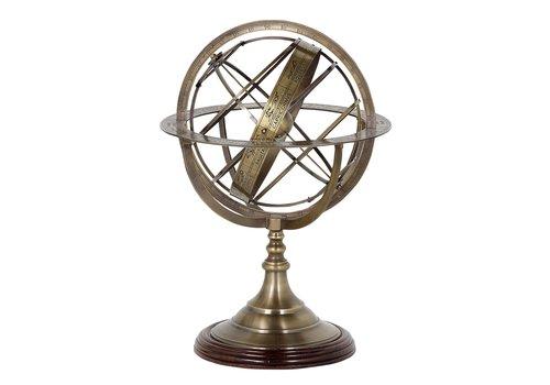 EICHHOLTZ Decoratie 'Globe' L - Bronze