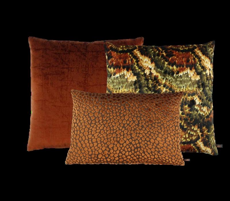 Dekokissen Set Rust & Burned Orange: Pheasant, Izett & Speranza