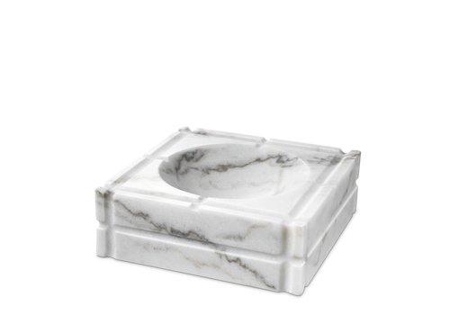 EICHHOLTZ Aschenbecher 'Nestor'  weisser marmor