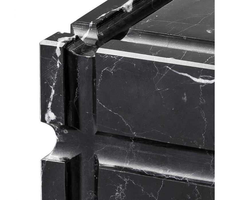 Aschenbecher 'Nestor' schwarzer Marmor