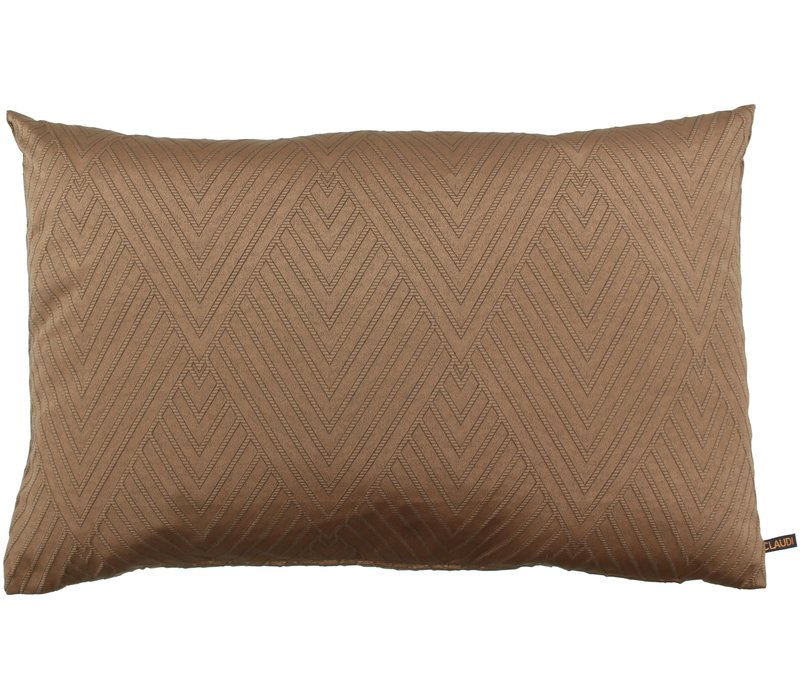 Decorative cushion Ceciel Copper