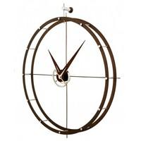 Design wall clock 'Doble O n' diameter 70cm