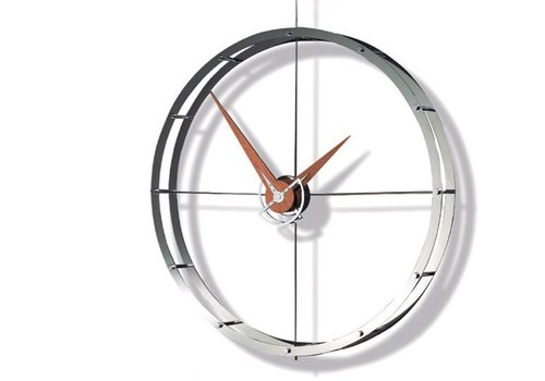 Nomon Design wall clock - Doble O i