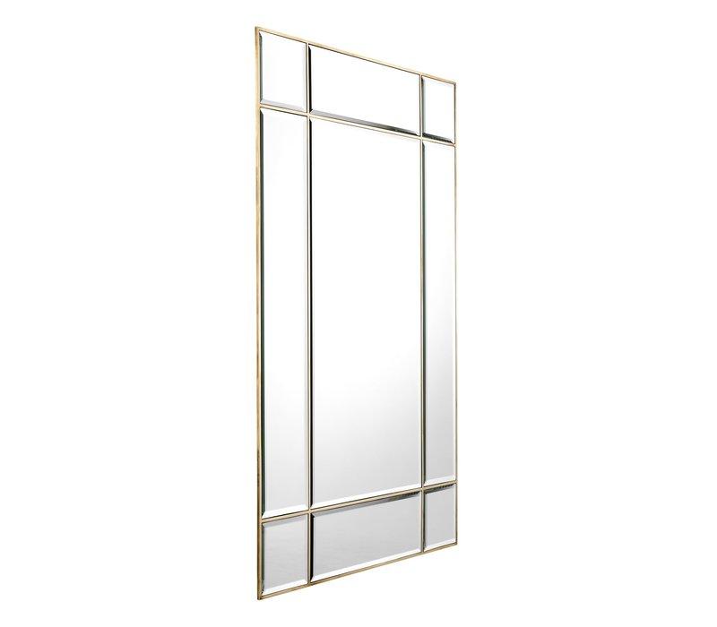 Mirror 'Beaumont' - L - Vintage Brass