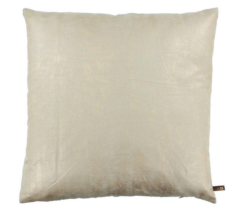 Throw pillow Solana Sand Gold