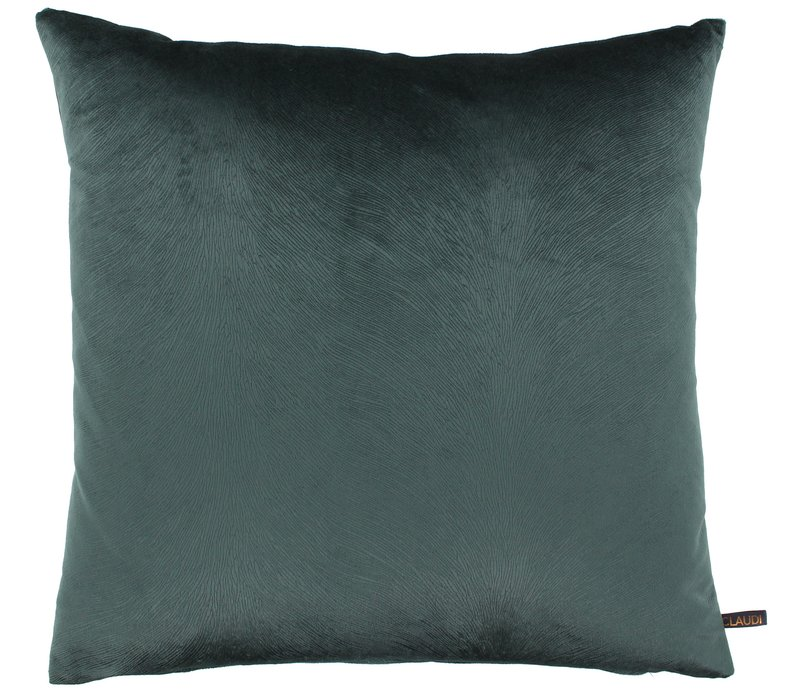 Throw pillow Perla color Steel Green new