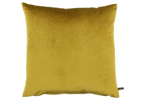CLAUDI Cushion Perla Mustard new