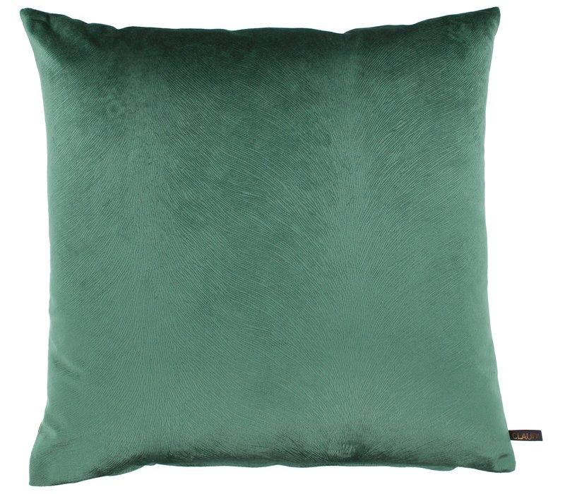 Throw pillow Perla color Dark Mint new