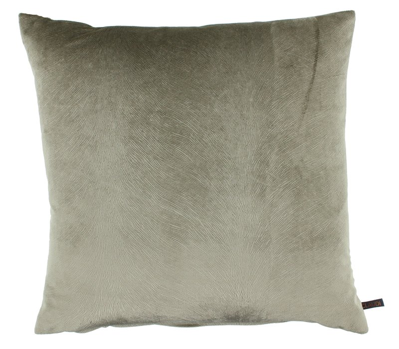 Throw pillow Perla color Brown new