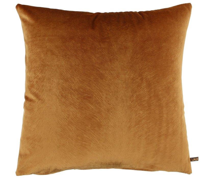 Throw pillow Perla color Burned Orange new