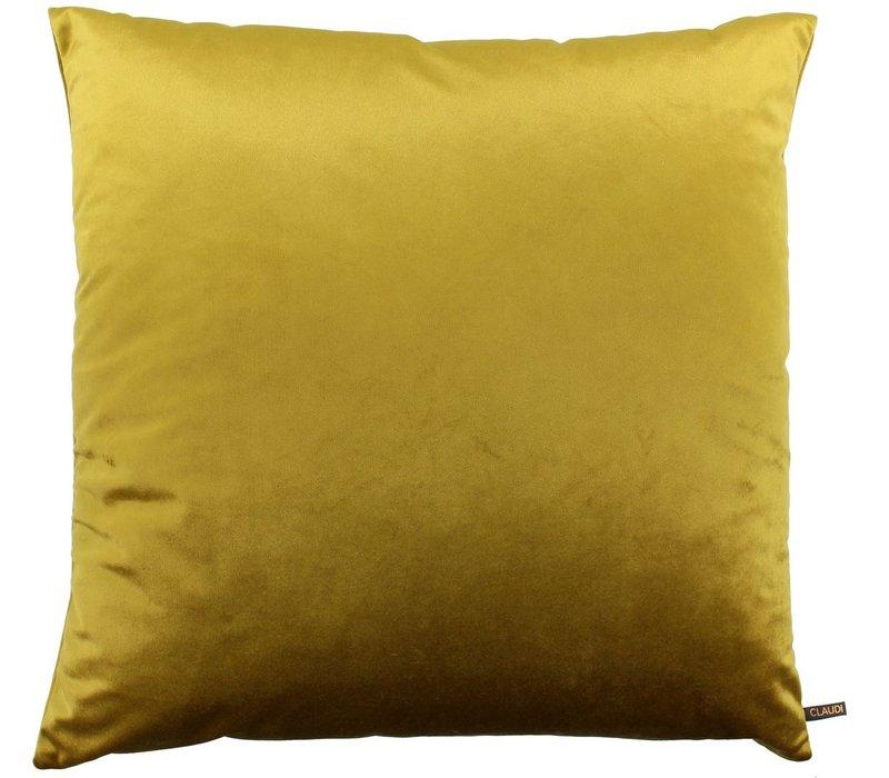 Cushion Paulina Mustard new