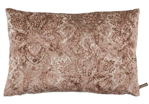 CLAUDI Cushion Paisley Ice Ash Rose