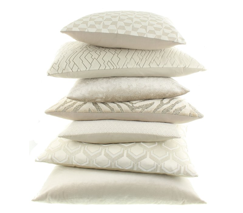 Throw pillow Solstice Off White
