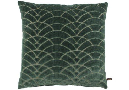 CLAUDI Cushion Dinora Dark Mint