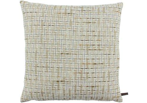 CLAUDI Cushion Verle Off White