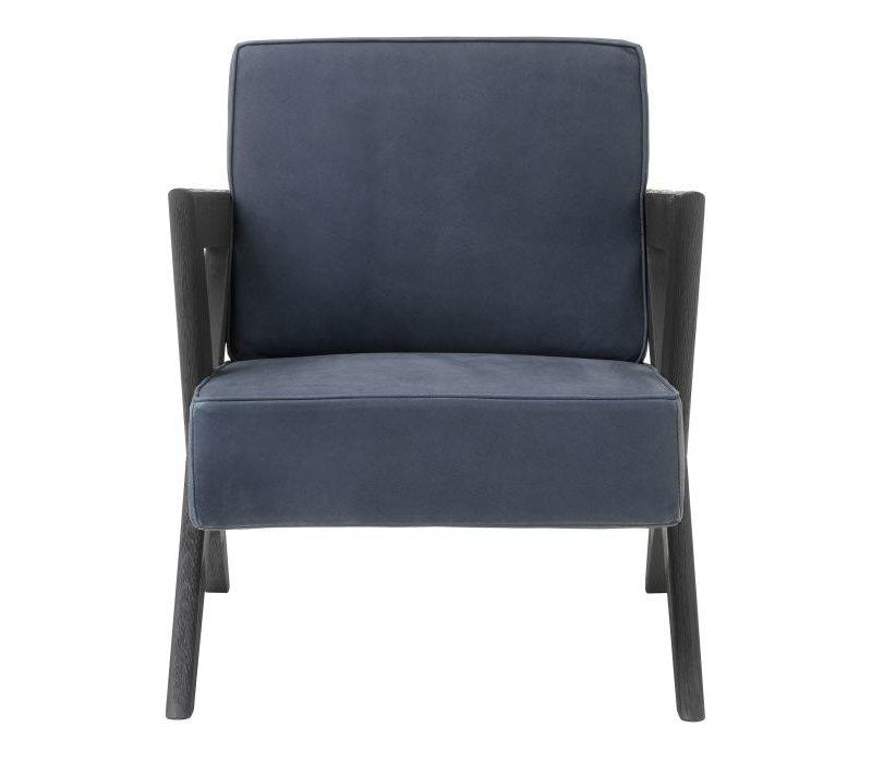Armchair 'Felippe' - Blue