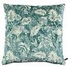CLAUDI Cushion Etnic Flower Ice Dark Mint