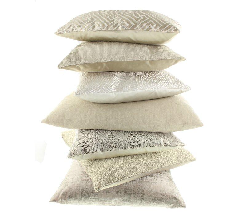 Throw pillow Asha Off White