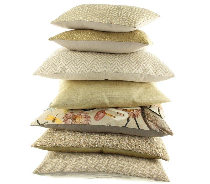 Throw pillow Kathy Mustard