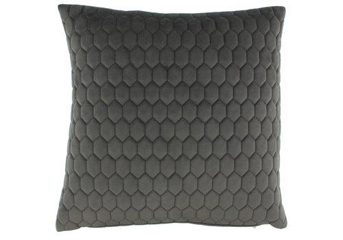 CLAUDI Cushion Honey Dark Taupe
