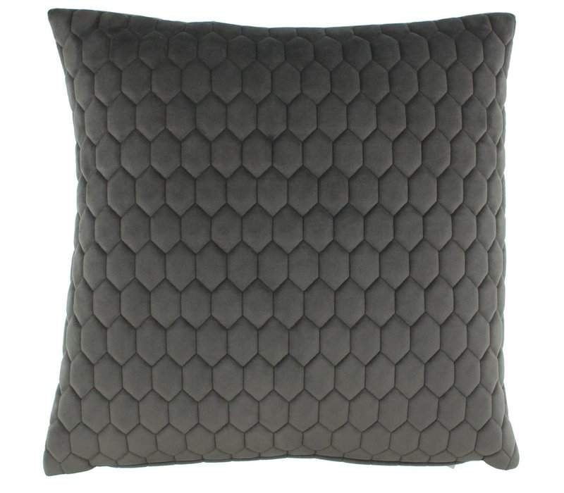 Cushion Honey Dark Taupe