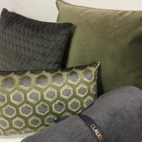 Throw pillow Imperiale Olive
