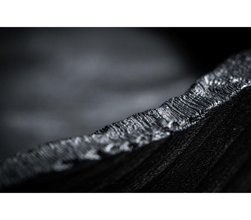 Plate 'Wood' - Black