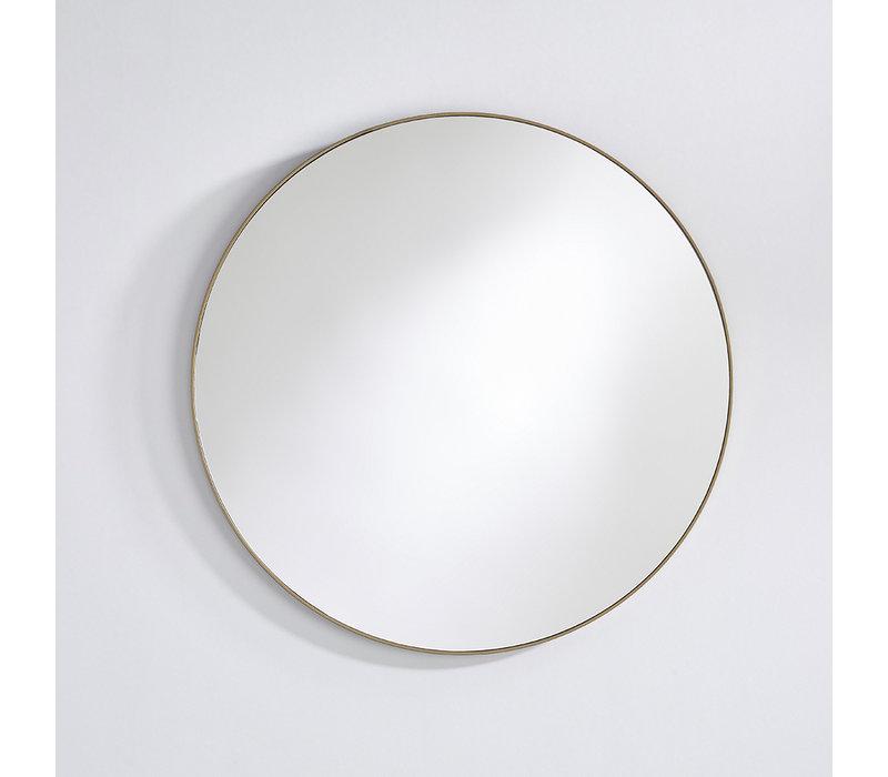runder spiegel 'Hoop' Bronze L