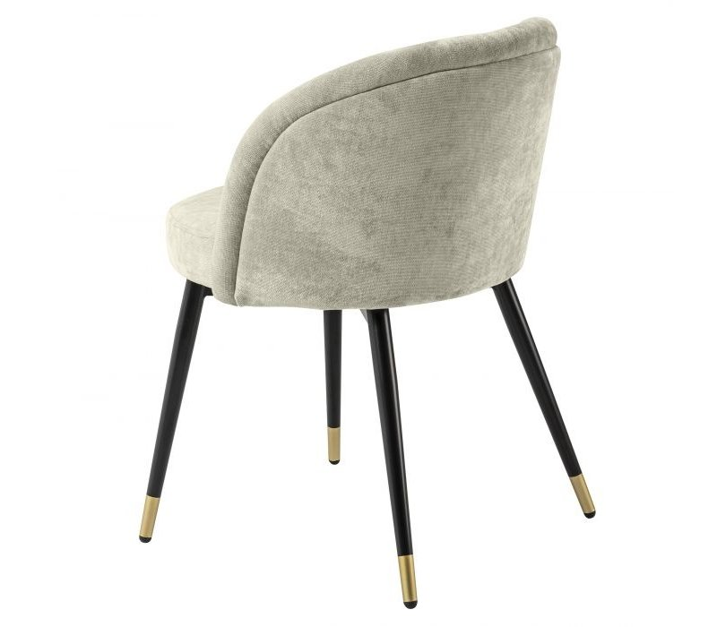 Dining chair 'Chloé' set of 2 - Clarck sand