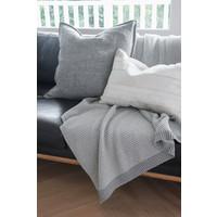 Plaid 'Palomar' Silver 125x150cm