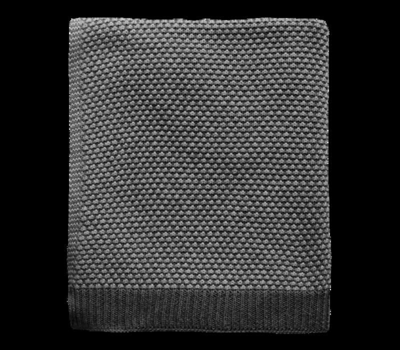 Plaid 'Palomar' Silber 125x150cm