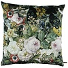 CLAUDI Kissen Flower Field Ice Dark Olive