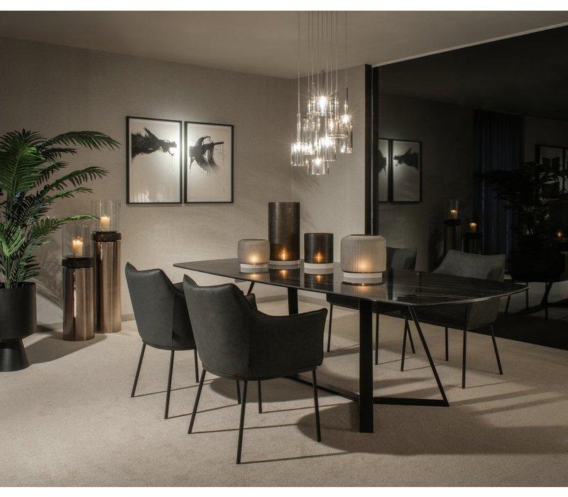 Dining table 'Gerona' - Thundernight Ceramic
