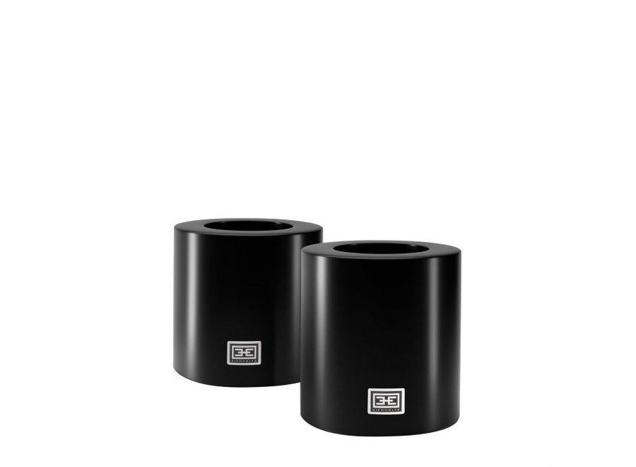 Kaarsen set S - 2 stuks - 10x12 cm