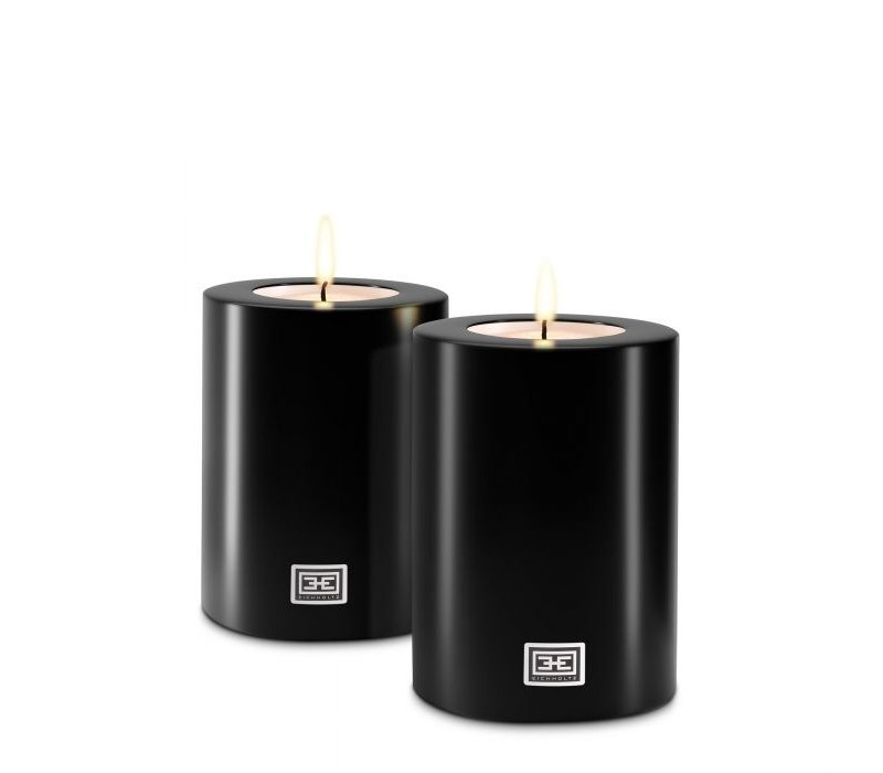 Künstliche Kerzen M - 2 Stück - 10x15 cm