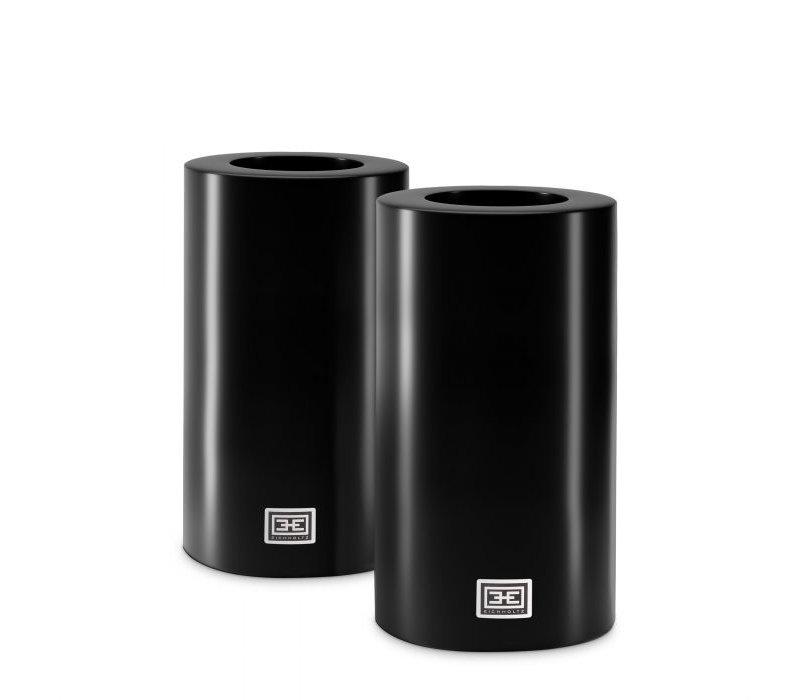 Künstliche Kerzen XL - 2 Stück - 10x21 cm