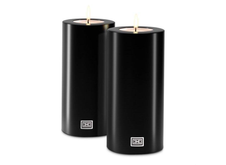 Kaarsen set M - 2 stuks - 12x25 cm