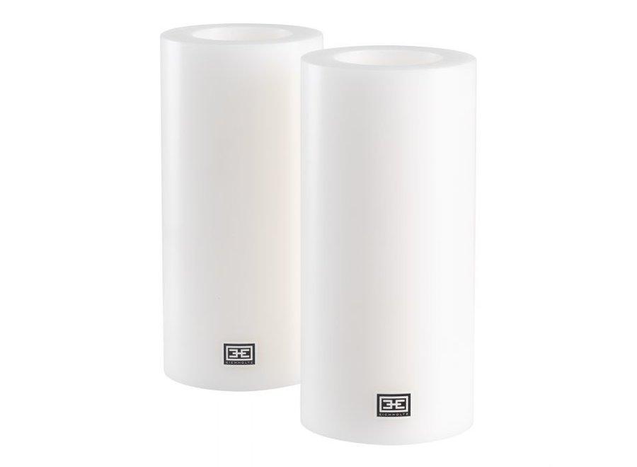 Kaarsen set XL - 2 stuks - 10x21 cm