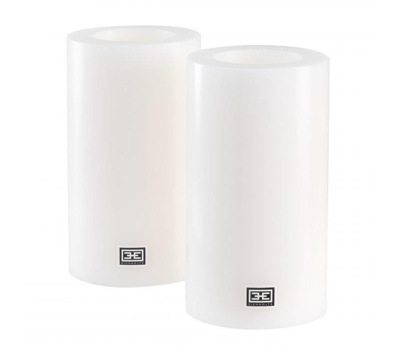 Artificial Candles L - 2 pieces - 10x18 cm