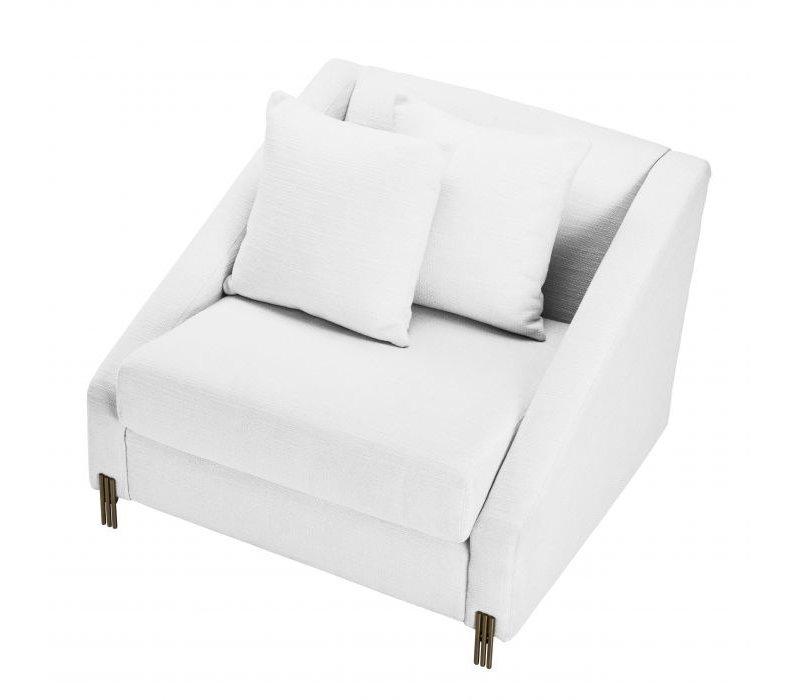 Armchair 'Candice' - Avalon white