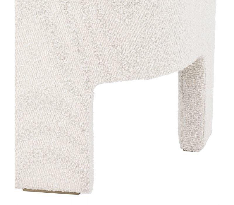 Chair 'Pebbles' - Bouclé cream