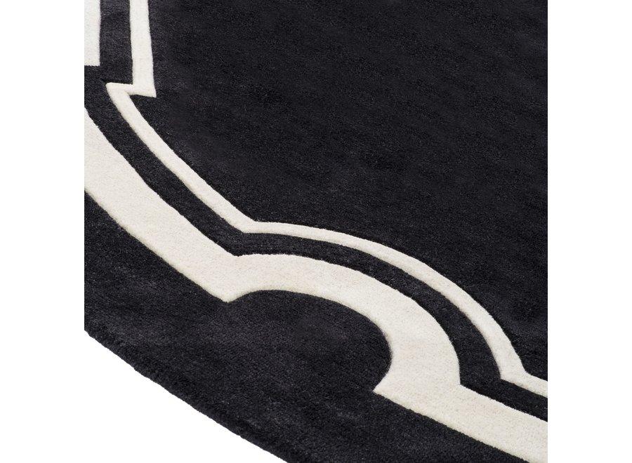 Carpet Palazzo, zwart/ wit