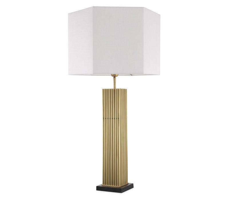 Tischlampe 'Viggo' Antik Messing