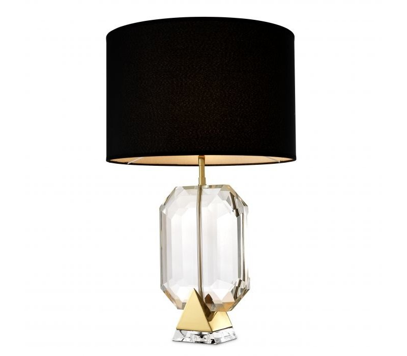 Table lamp 'Emerald' - Gold