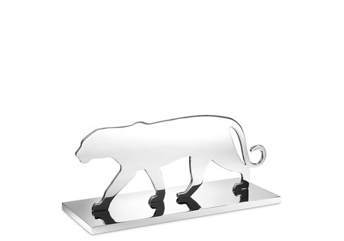 EICHHOLTZ Object Panther Silhouette - Nickel