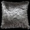 Heirloom / Mulberi by Furtex Fur cushion 'Pewter Chincilla' 45x45cm