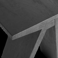 Bench 'Angle' Black