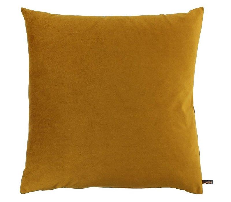 Pouf Bibi Italian Velvet Mustard