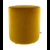 CLAUDI Pouf Bibi Italian Velvet Mustard